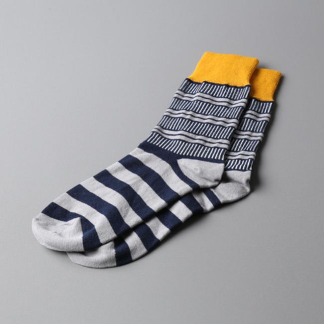 "Tile Socks ""YELLOW"""