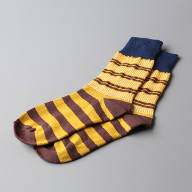 "Tile Socks ""NAVY"""