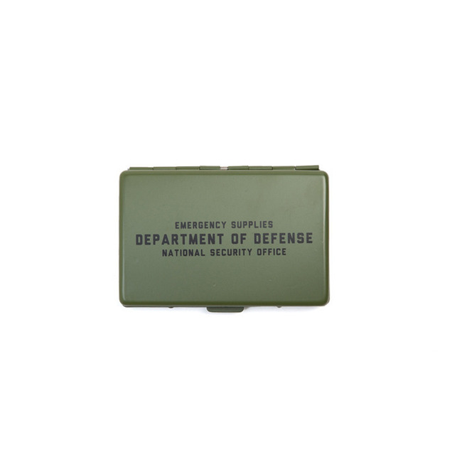 "Surplus Card Case ""OLIVE"""
