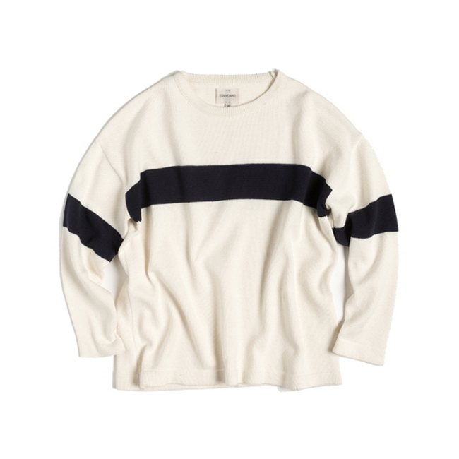 "Stripe Knit ""IVORY"" ONLINE ONLY"
