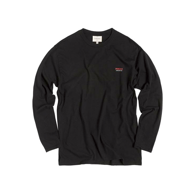"Fragile Long-Sleeve Tee ""BLACK"""