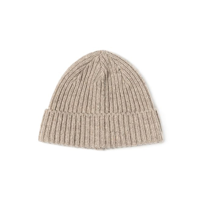 "Wool Beanie ""PEBBLE"""