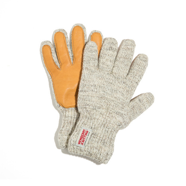 "Newtech lined ragg wool Glove with Deerskin Palm ""T.GRAY"" S/M SIZE RESTOCK"
