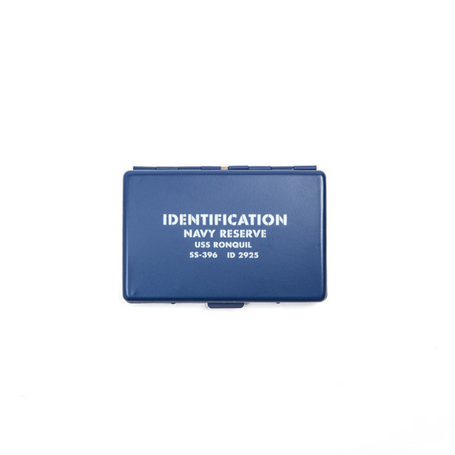"Surplus Card Case ""BLUE"""