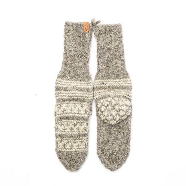 "Woman Socks ""GRAY"""