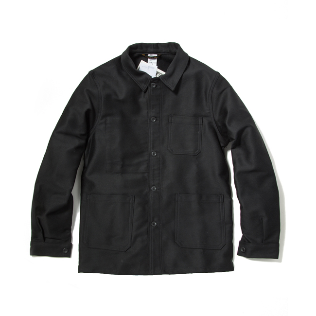 "Moleskin Work Jacket ""BLACK"""