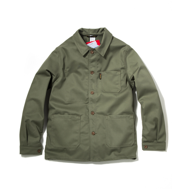 "Moleskin Work Jacket ""OLIVE"""