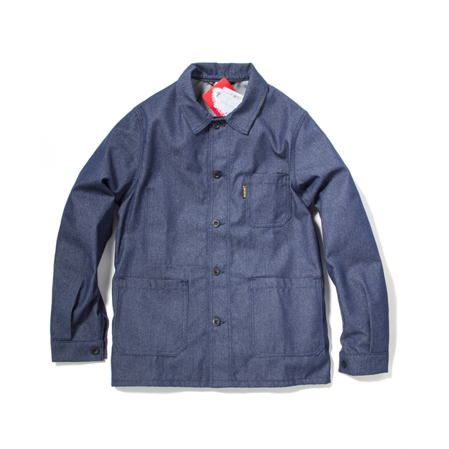 "Denim Twill Work Jacket ""INDIGO"""