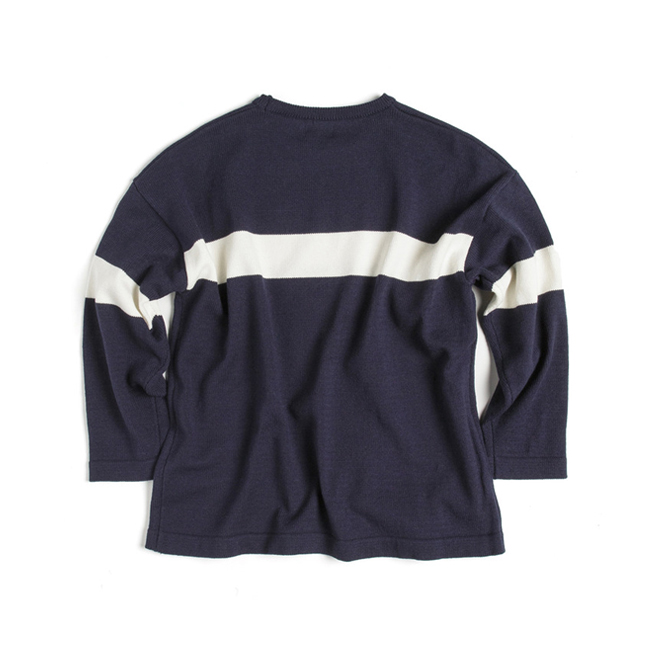"Stripe Knit ""NAVY"""