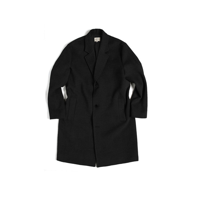 "Standard Oversized Coat ""BLACK"""