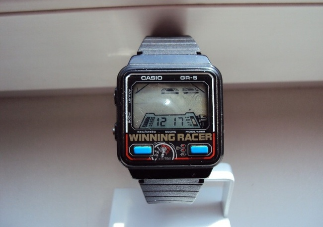 Vintage Casio Game Watch