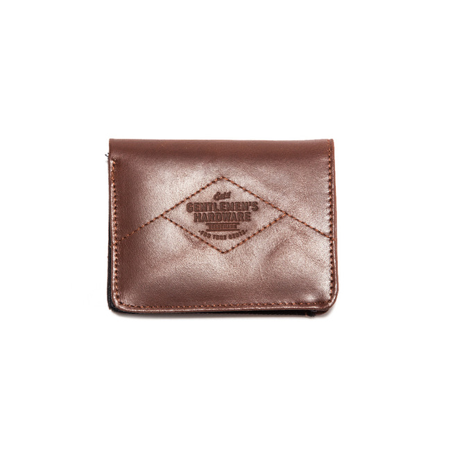 Leather & Canvas Wallet