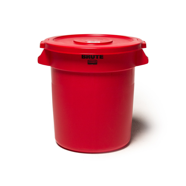 "BRUTE Container 37L ""RED"""