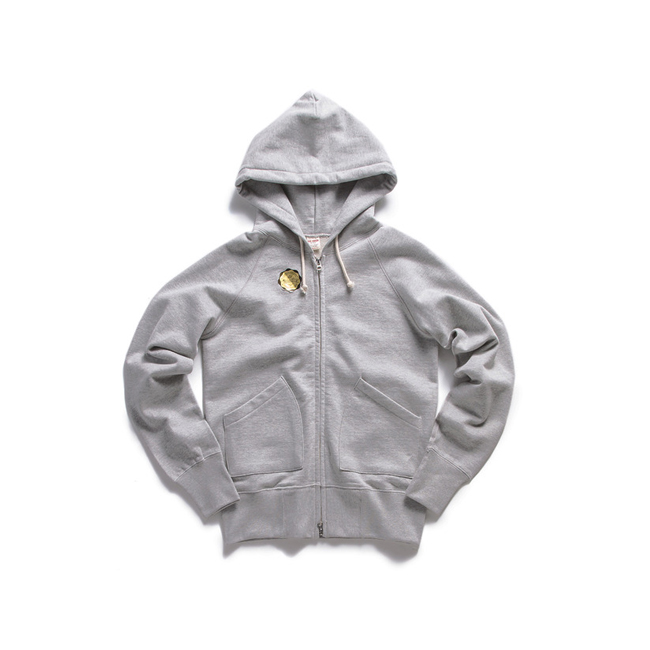 "Sweat Zip Parka ""GRAY""  RESTOCK"