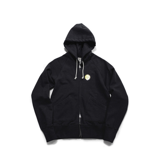 "Sweat Zip Parka ""BLACK"" FINAL SALE"