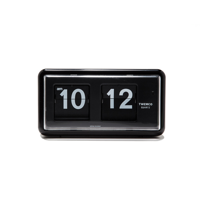 "QT-30 Flip Clock ""BLACK""Re-Stock"