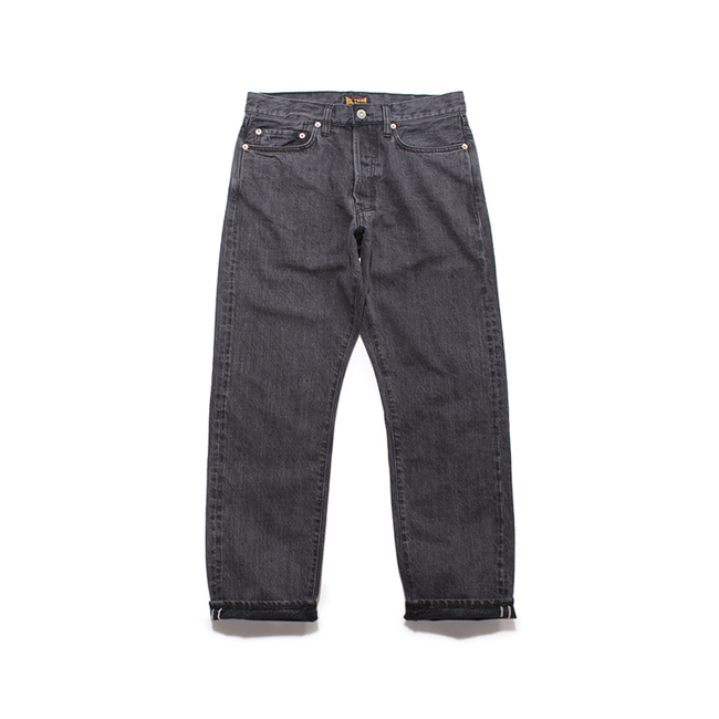 "13.5oz Japanese Selvedge Jean ""BLACK(Stone Wash)"""