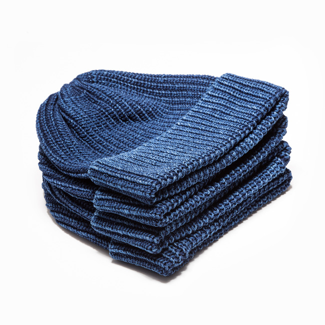 Indigo Cotton Watch Cap