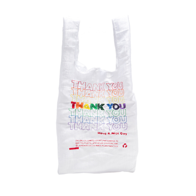 "Thank You Tote ""RAINBOW"""