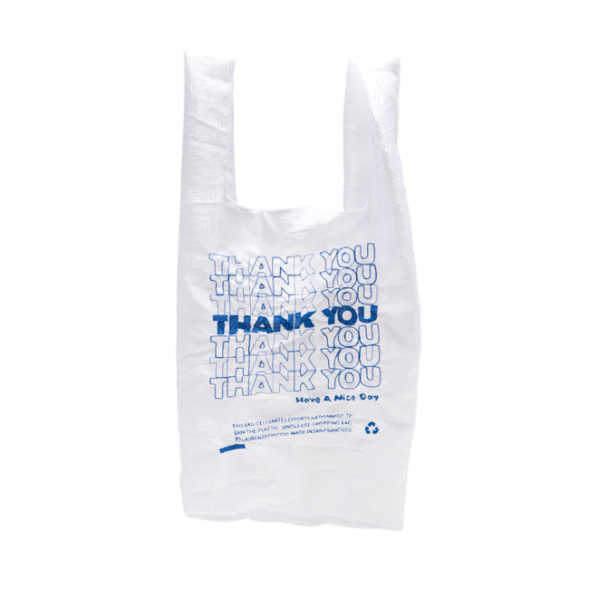 "Thank You Tote ""BLUE"""