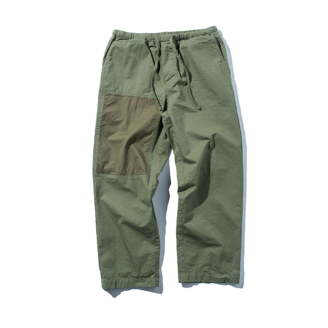 "Easy Pants ""OLIVE TWILL""  예약주문 4월 중순 재입고"