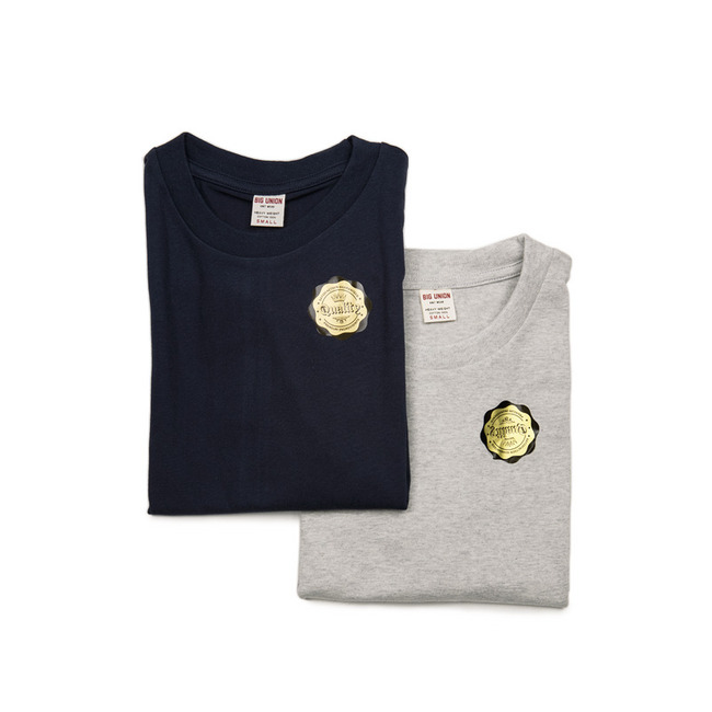 "2Pack Tube T-shirts ""NAVY / H.GREY"""