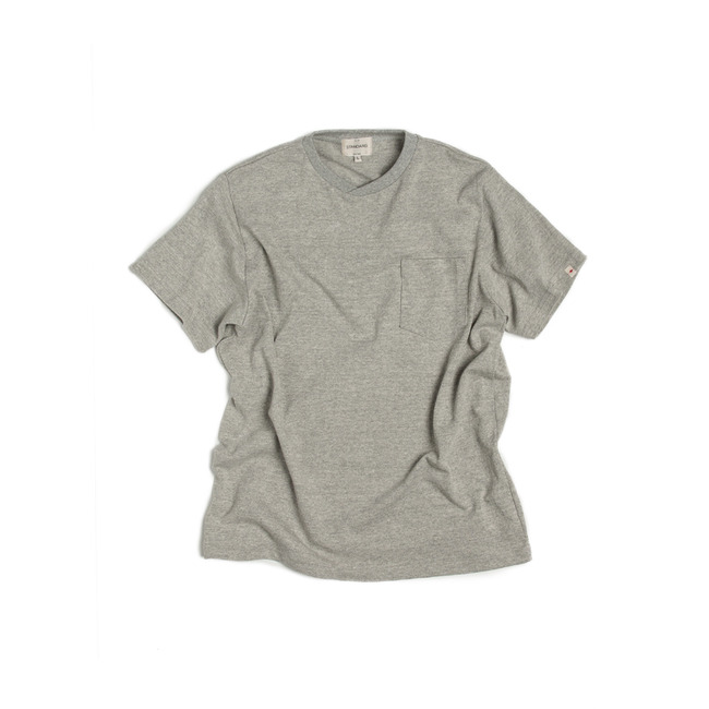 "Pocket T-Shirt ""GRAY"""