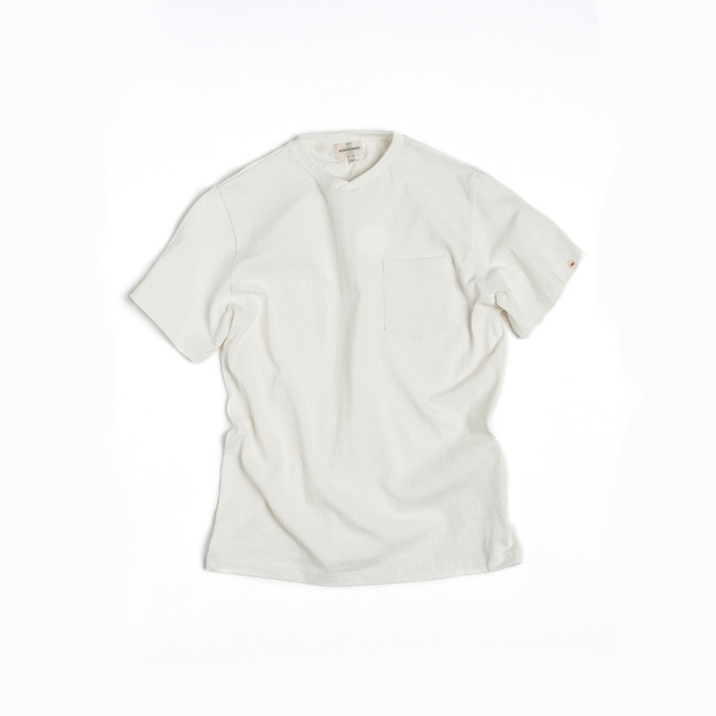 "Pocket T-Shirt ""WHITE"""