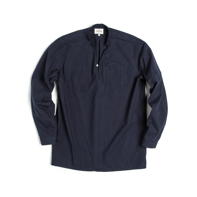 "V-Neck Shirt ""NAVY"""