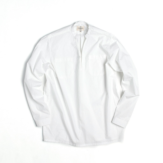 "V-Neck Shirt ""WHITE""  ONLINE ONLY"