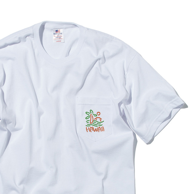 "'Ae Hawaii Pocket ""WHITE"""