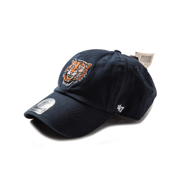 Detroit Tigers  Cooperstown Vintage Navy Clean Up