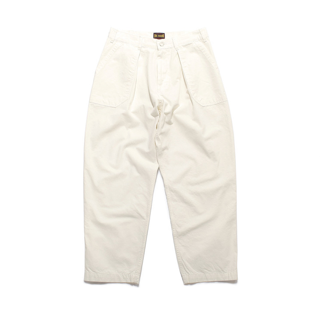 Fatigue Painter Pants Off White