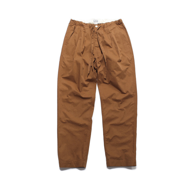"BU Easy Pants ""BROWN""  재입고"