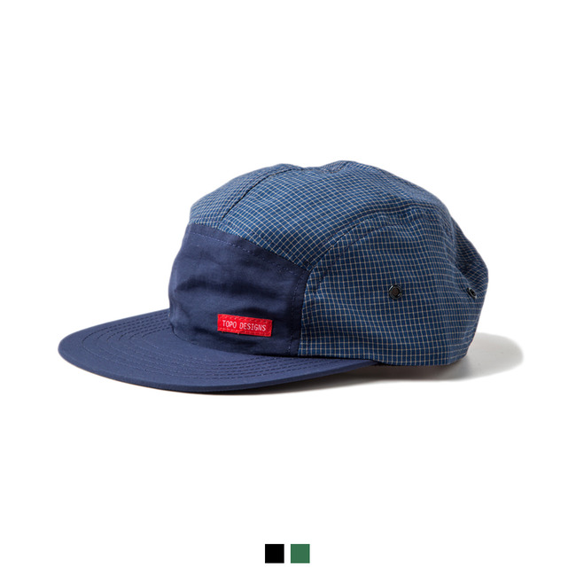 "Nylon Camp Hat Grid ""3 COLOR"""