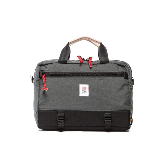 "Commuter Briefcase ""BLACK/CHARCOAL"""