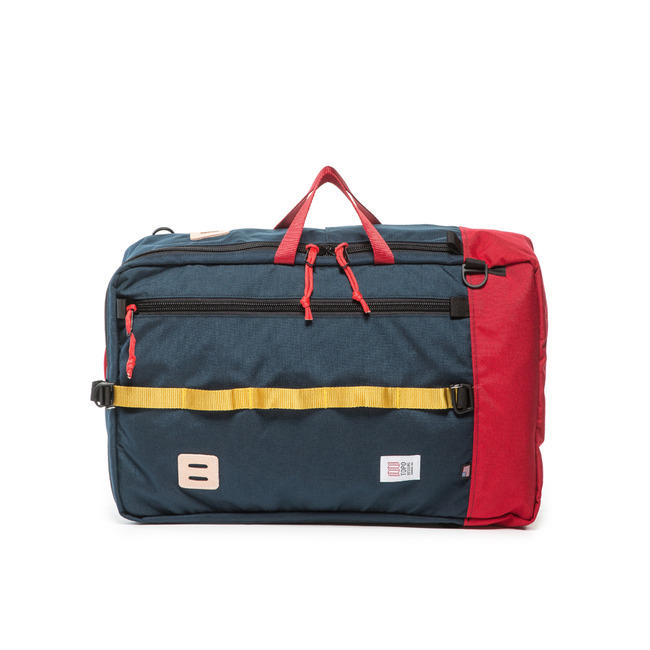 "Travel Bag ""NAVY/RED"""