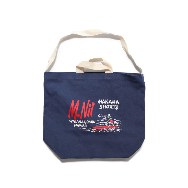 "M.Nii Basic Logo Surfer Bag ""NAVY"""