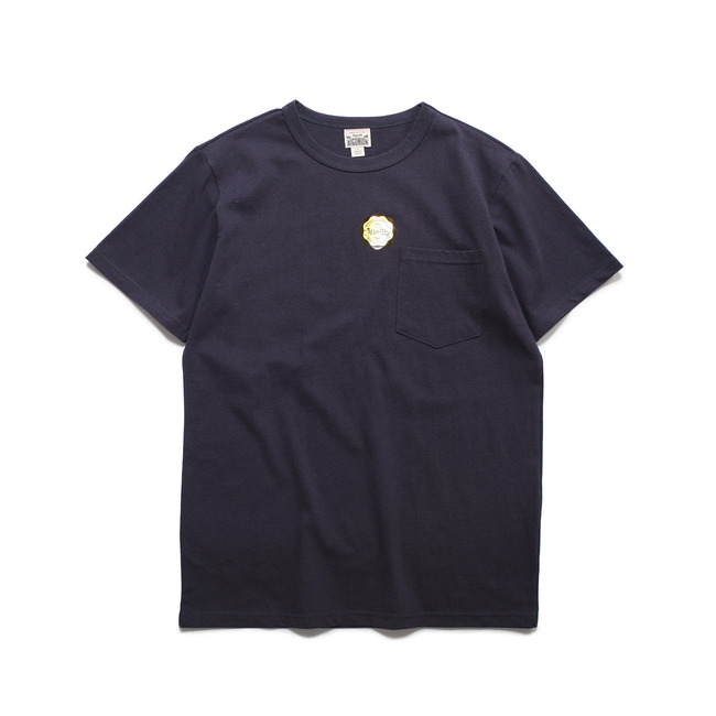 Crew-neck S/S Shirt Navy