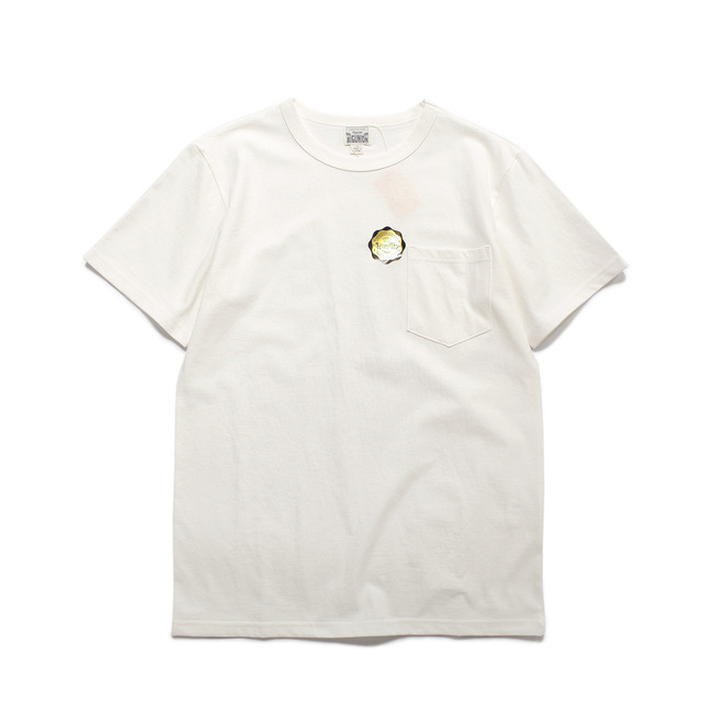 Crew-neck S/S Shirt White