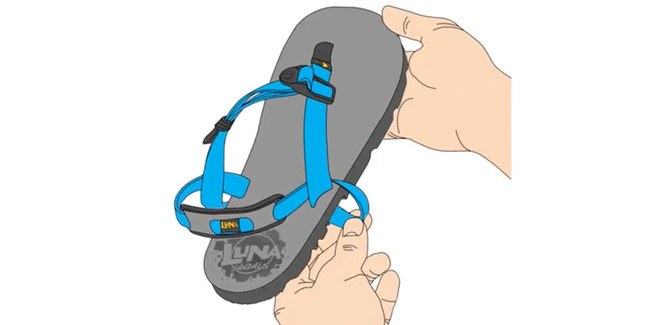 How to Adjust LUNA Sandals - Performance Laces