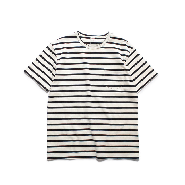 Stripe 1/2 T-Shirt Black  FINAL SALE