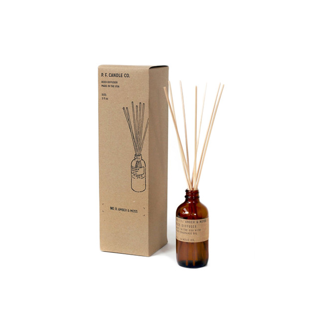 "3oz Reed Diffuser ""AMBER & MOSS"""