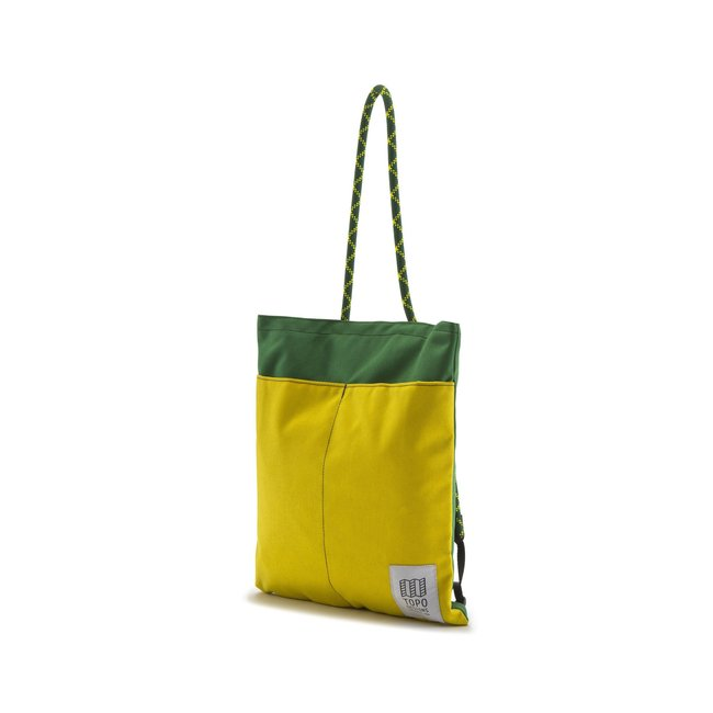 "Rope Tote Pack ""SUNSHINE / FOREST"""