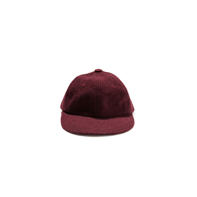"Wool Ball Cap ""WINE"""