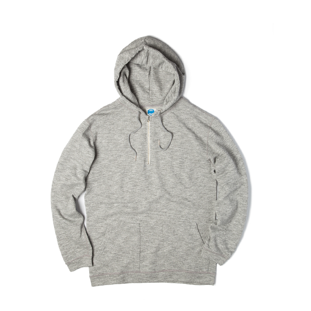 Athletic Half Zip Hoody 'GREY'