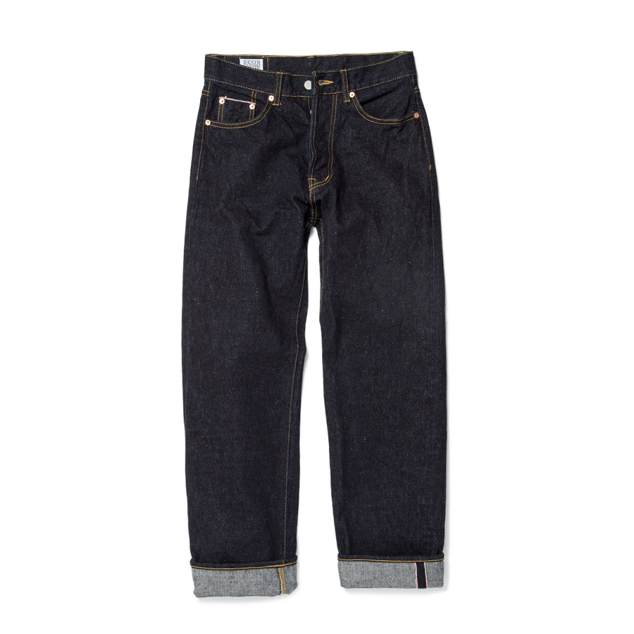 Unsanforrized Heritage Raw Denim 16.5oz쿠로키 생지 셀비지