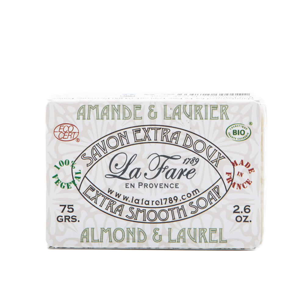 "Extra Smooth Soap ""ALMOND & LAUREL"""