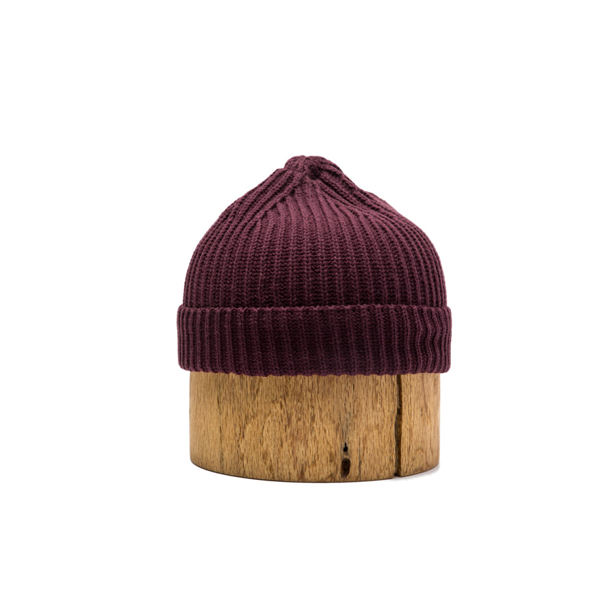 BASIC WATCH CAP BURGUNDY