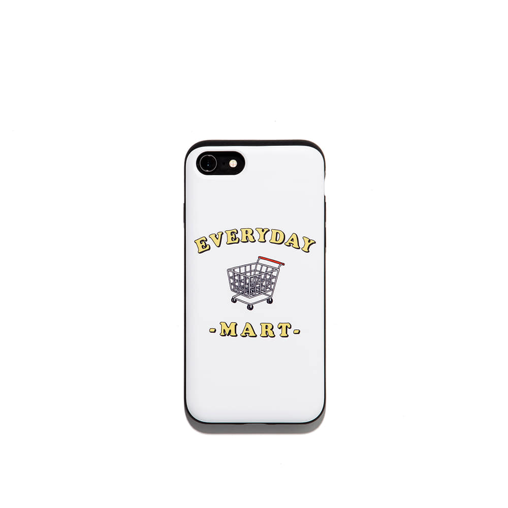 Everyday mart Iphone Case 7/8 7/8+ X 가능 & 카드1장 수납